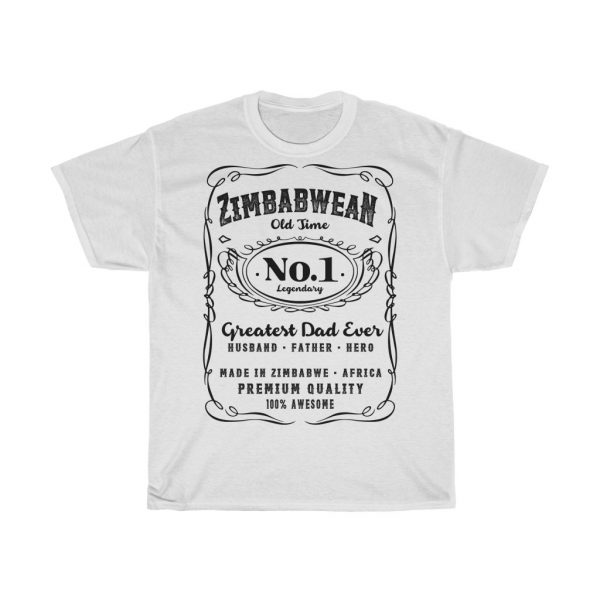 Zimbabwean Number 1 Dad T-Shirt (S to 5XL)